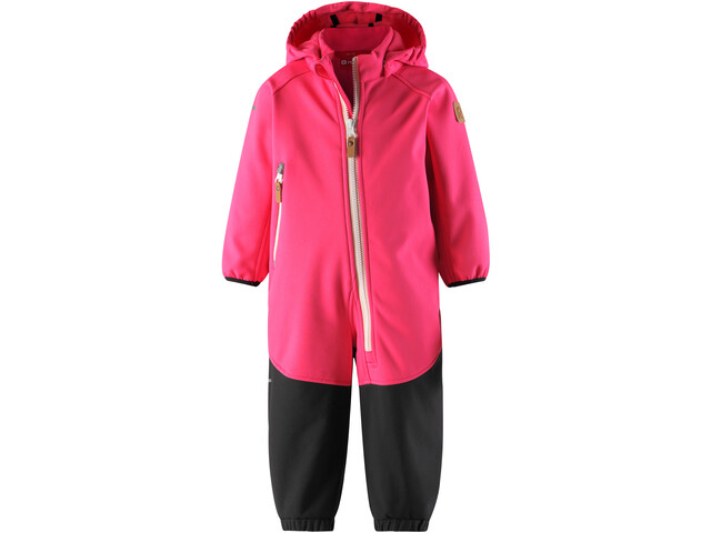 Reima Mjosa Combinaison Softshell Fille, candy pink